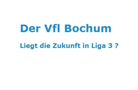 Vfl Bochum, Abstieg, Bundesliga