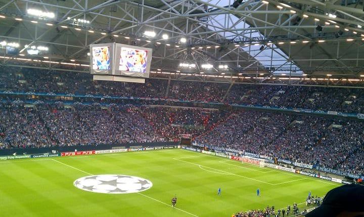 Championsleague Halbfinale Schalke 04 gegen Manchester United