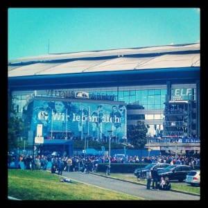 Arena auf Schalke (Veltins Arena) das Zuhause des FC Schalke 04