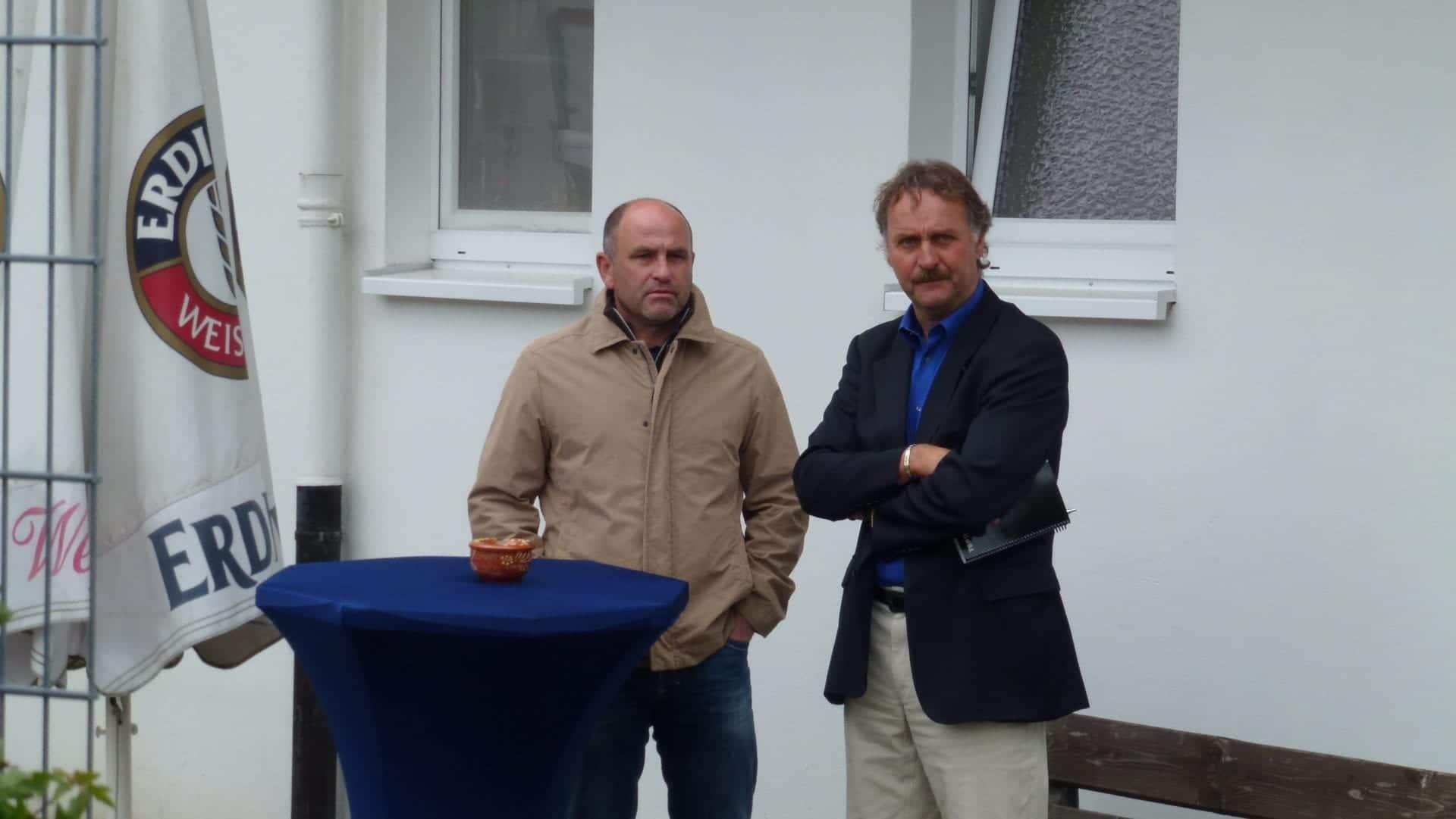 Peter Neuruer und Christian Hochstätter