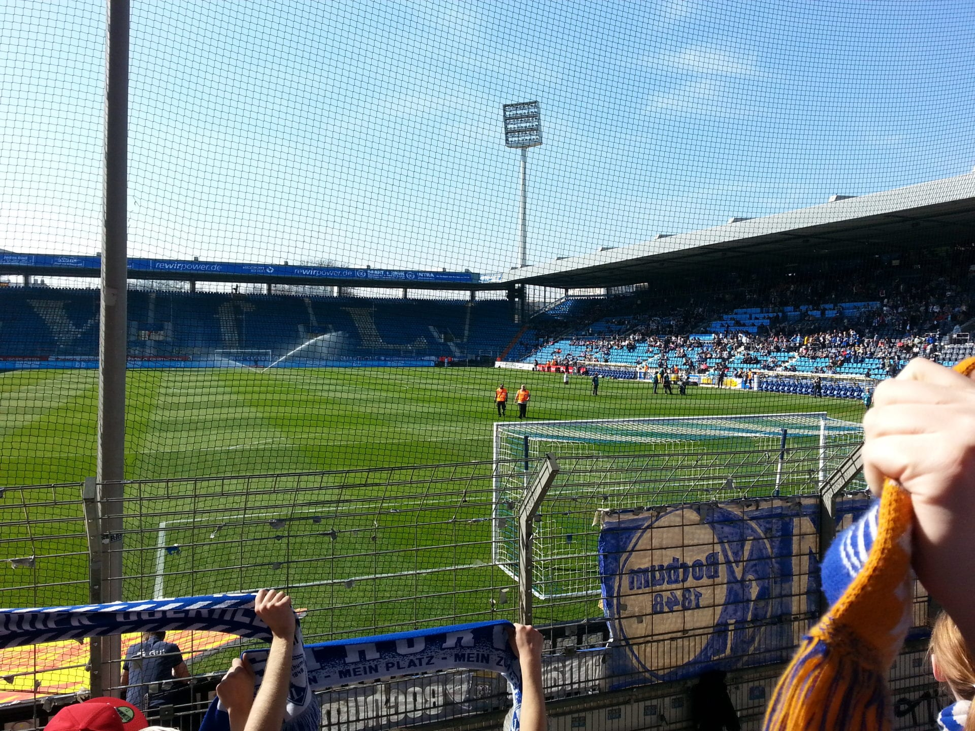 Ostkurve beim VfL Bochum