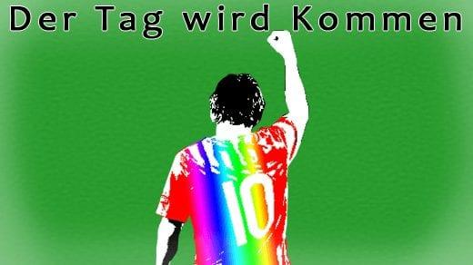 Der Tag wird kommen von Marcus Wiebusch ist ein Lied gegen Homophobie im Fußball