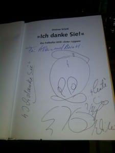 Autogramm von Willi Lippens