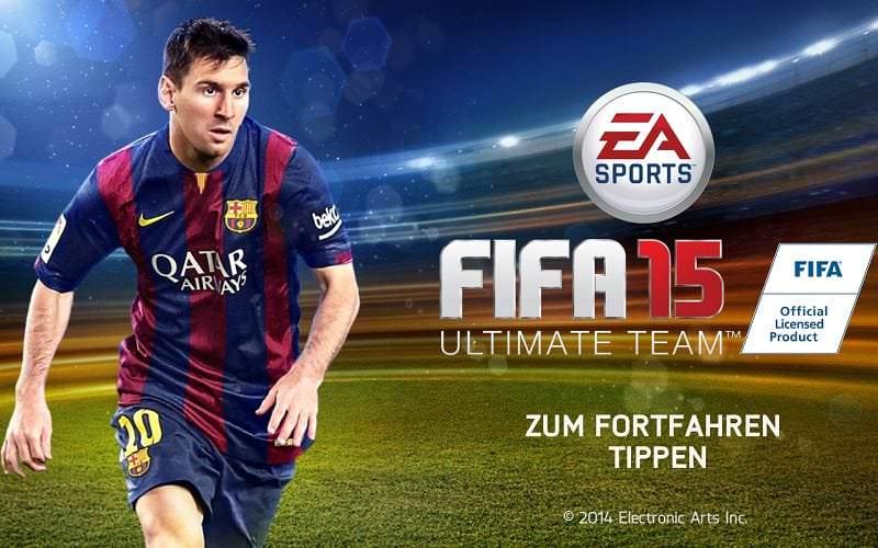 kostenloses FIFA-Game fürs Smartphone