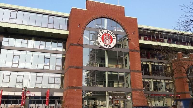 Millerntor-Stadion in Hamburg St. Pauli