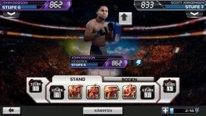 UFC App von EA Sports
