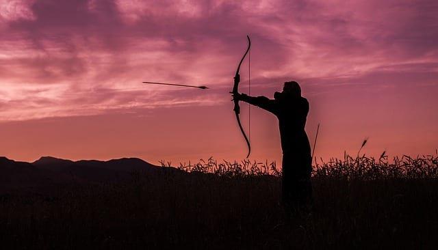 Bogenschießen wie Robin Hood