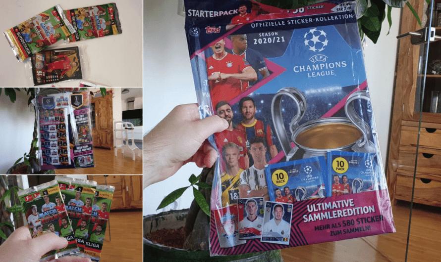 Topps-Sammelkarten | Bundesliga und Champions League